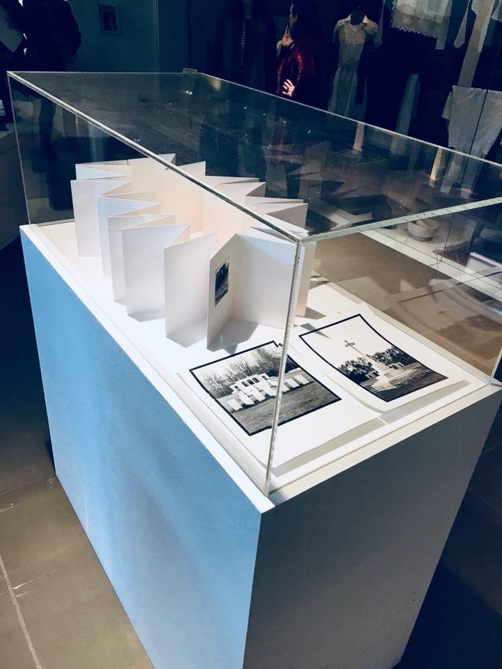 Bury Art Museum & Sculpture Centre – Exhibition featuring my piece 'Resting Places' – March to August 2018