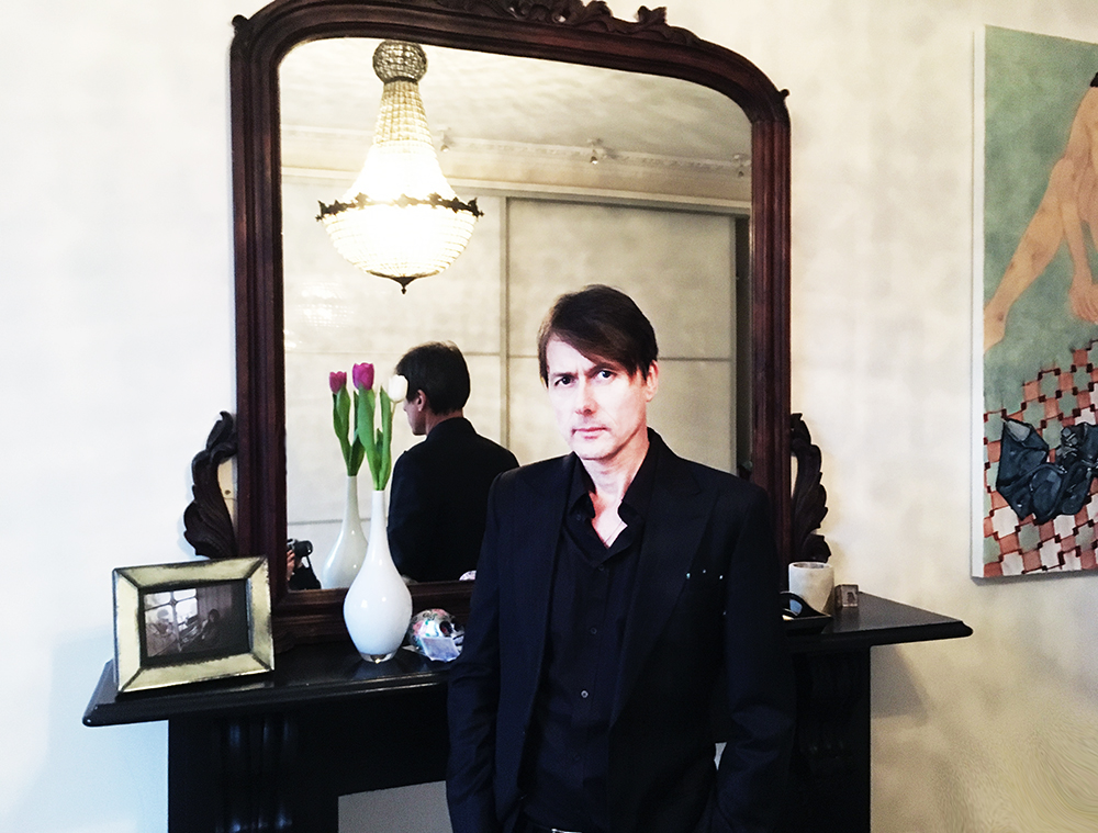 Brett Anderson Photoshoot West London 2018