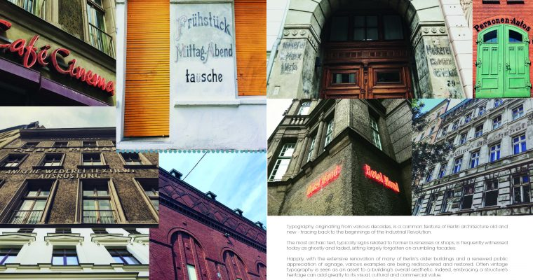 Researching the City of Berlin – Typography – Actual Size Magazine