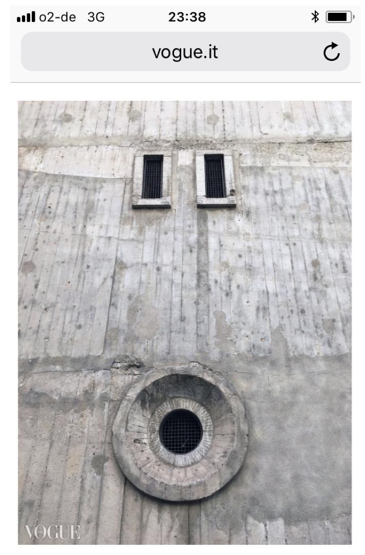 Vogue – Twentieth Century Bunker – 26/11/2018