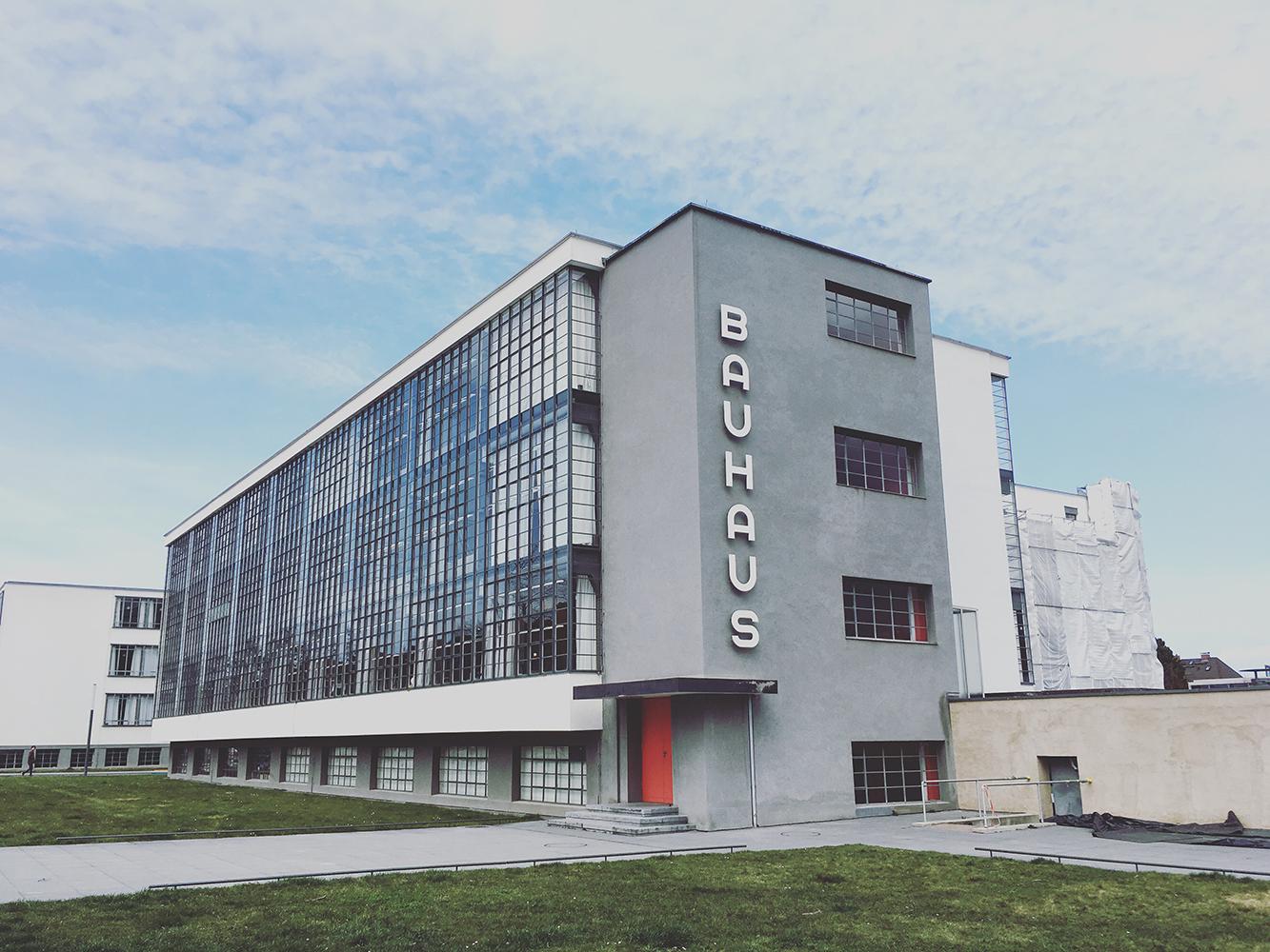 Bauhaus Dessau Visit – Photographic Impressions