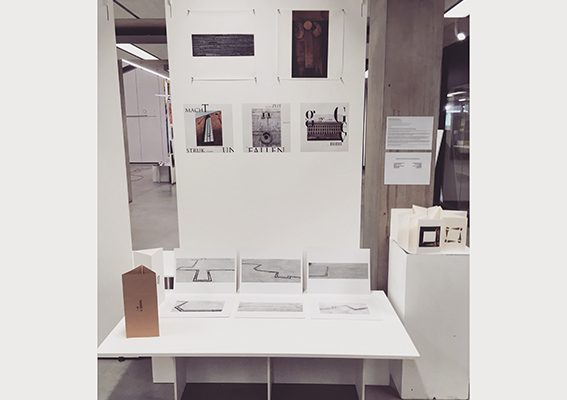 Preview of MA project 'DECONSTRUCTION – RECONSTRUCTION' exhibited at Manchester School of Art
