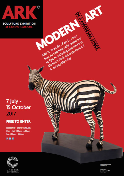Ark Exhibition at Chester Cathedral – An interest in unusual exhibition spaces