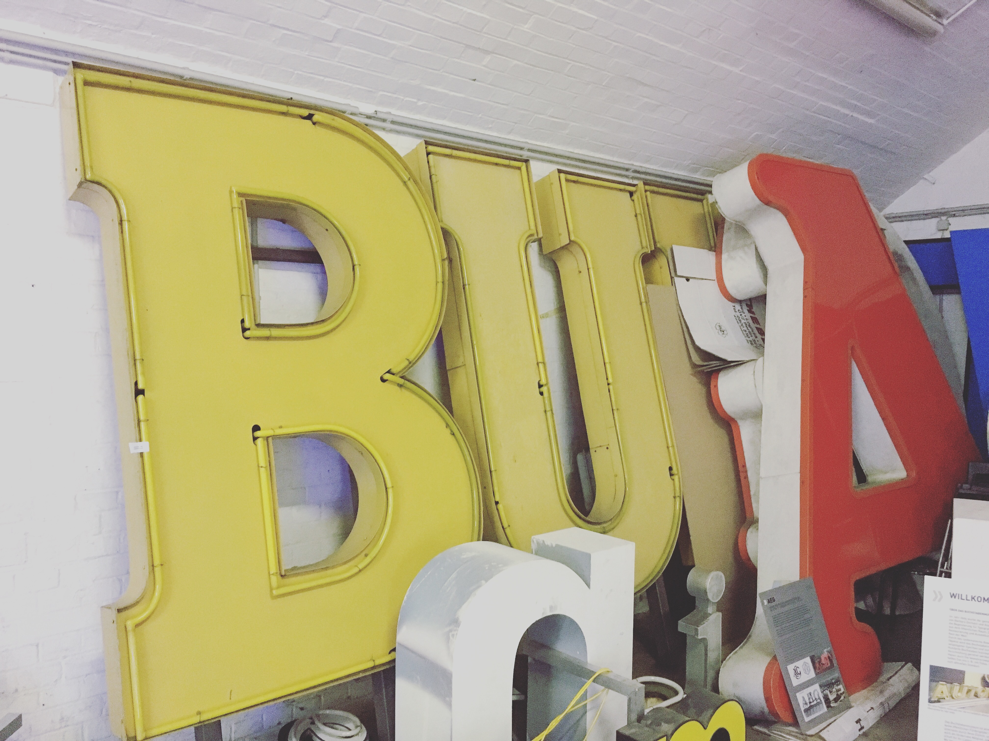 Buchstabenmuseum Berlin (Typography Museum) – 1000 letters over 1000 square meters