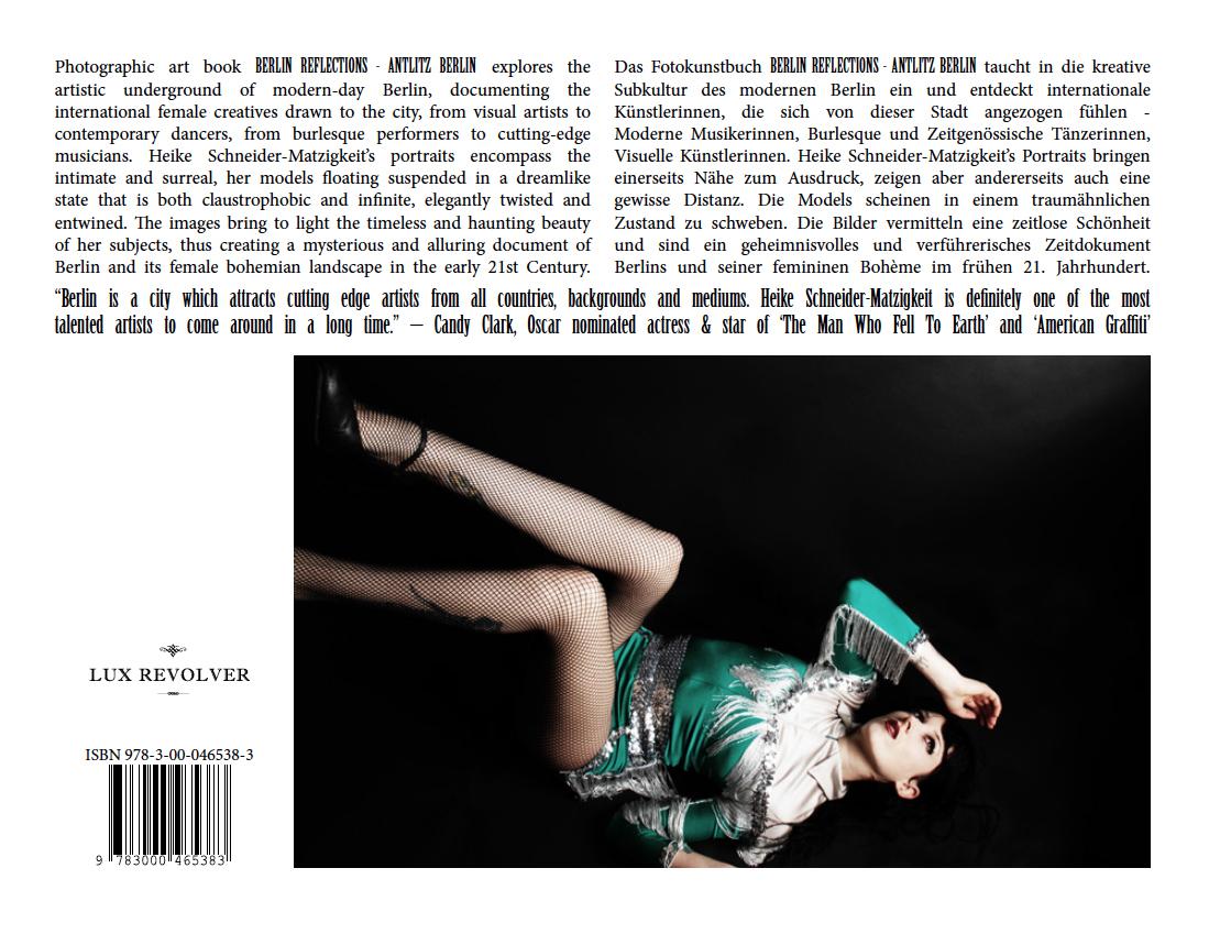 'Berlin Reflections – Antlitz Berlin' now available through Amazon