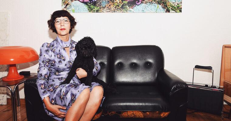 Portrait of Coco & Irene on Italian Vogue's Website